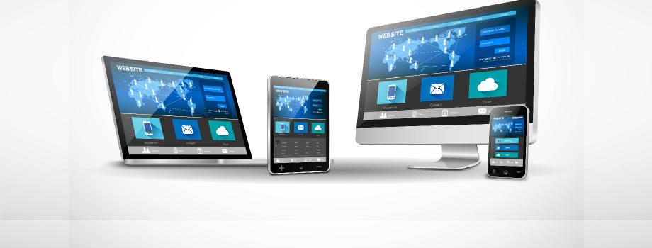 Webové stránky optimalizované pro smartphony, tablety a notebooky